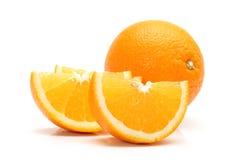 Orange. Three   piece of orange Stock Photo