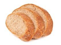 Three pieces of bread Stock Photo