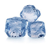Three pieces of ice Royalty Free Stock Photo