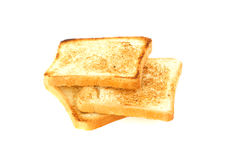 Three Pieces Of Toast Royalty Free Stock Image