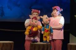 Three piglets Royalty Free Stock Photography