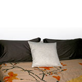 Three pillows Stock Images