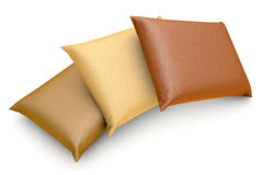 Three Pillows Stock Photography