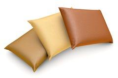 Three Pillows Stock Photography