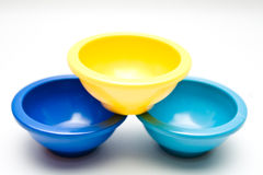 Three Pinch Bowls Royalty Free Stock Photography