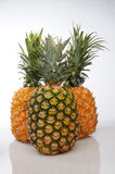 Three pineapple Royalty Free Stock Image