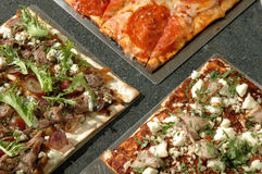 Three pizzas Royalty Free Stock Image