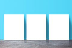 Three  placard Royalty Free Stock Images
