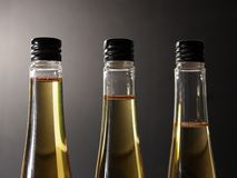 Three plastic bottles Royalty Free Stock Photography