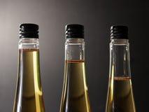 Three plastic bottles Royalty Free Stock Photography