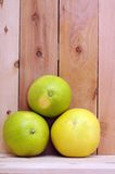 Three pomelo Royalty Free Stock Photography
