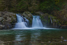 Three Pools on Opal Creek Stock Image