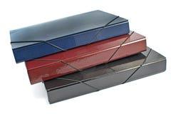 Three portfolio folders Royalty Free Stock Photography