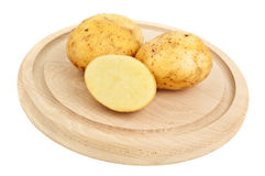 Three potato Stock Image