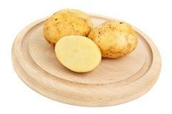 Three potato Stock Image