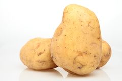 Three Potatoes Stock Photos