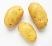 Three Potatoes Royalty Free Stock Photography