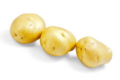 Three_potatoes Royalty Free Stock Photo