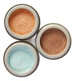 Three powders Stock Photography