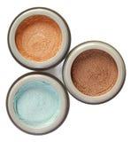 Three powders Stock Photography