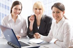 Three Professionals Royalty Free Stock Images