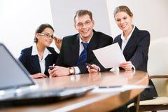Three professionals Stock Photos