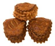 Three puffs Stock Image