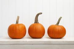 Free Three Pumpkins Royalty Free Stock Image - 43286326