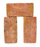 Three red-brick Stock Photos