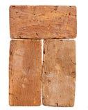 Three red-brick Royalty Free Stock Image