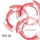 Three red circles Royalty Free Stock Photography