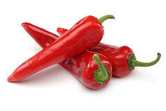 Three Red Pepper Royalty Free Stock Photo