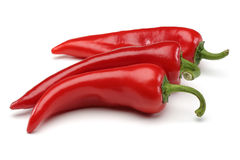 Three Red Pepper Royalty Free Stock Photos