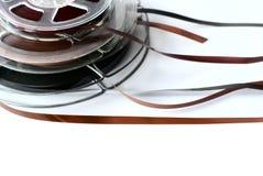 Three reels of audio tape Stock Photo