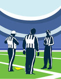 Three referees Royalty Free Stock Images