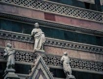 Three religious statues Royalty Free Stock Photo