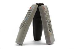 The three remote control Stock Photo