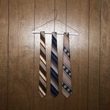 Three retro ties Stock Photography