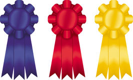 Three Ribbons Royalty Free Stock Photos