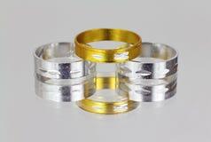 Three rings Stock Photos