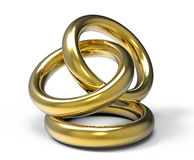 Three Rings Stock Images