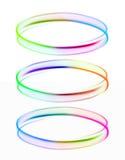 Three rings of light Royalty Free Stock Image