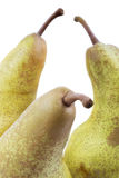 Three ripe pears, detail Stock Photos