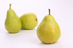 Three ripe pears Royalty Free Stock Photo