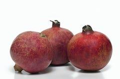 Three ripe pomegranates Royalty Free Stock Photography