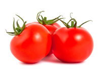 Three ripe tomatoes Royalty Free Stock Image