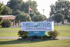 Three Rivers Healthcare and Rehabilitation, Jonesboro, Arkansas. Three Rivers Healthcare and Rehabilitation is a skilled nursing facility offering the best royalty free stock photography