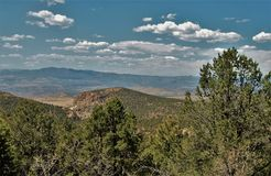 Three Rivers Lincoln National Forest Campground. The Three Rivers Lincoln National Forest Campground provides visitors with sweeping vistas of Sierra Blanca and Stock Image