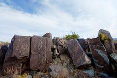 Three Rivers Petroglyph Site Royalty Free Stock Photos