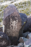 Three Rivers Petroglyph Site Stock Photography